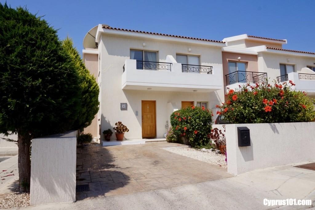 1- Tala, Paphos, Cyprus Semi-Detached House with Sea & Mountains Views