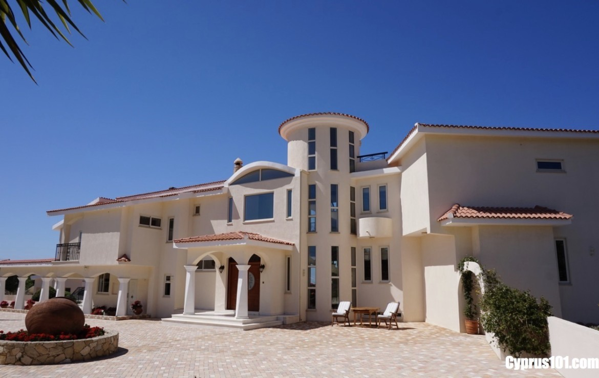 Paphos Custom Built Home in Peaceful Rural Setting