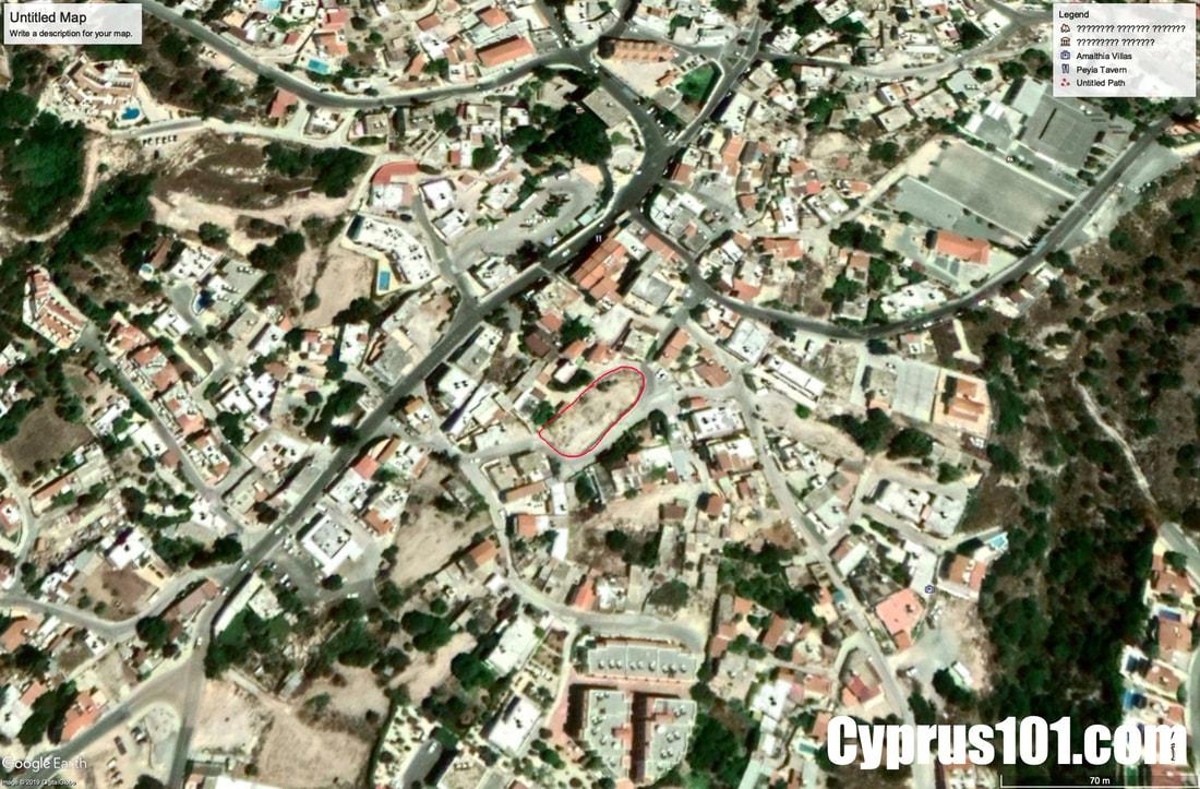 Peyia-plot-for-sale-paphos-cyprus