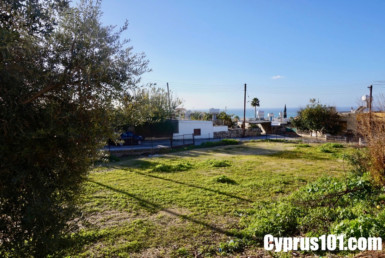 Peyia plot for sale Paphos Cyprus