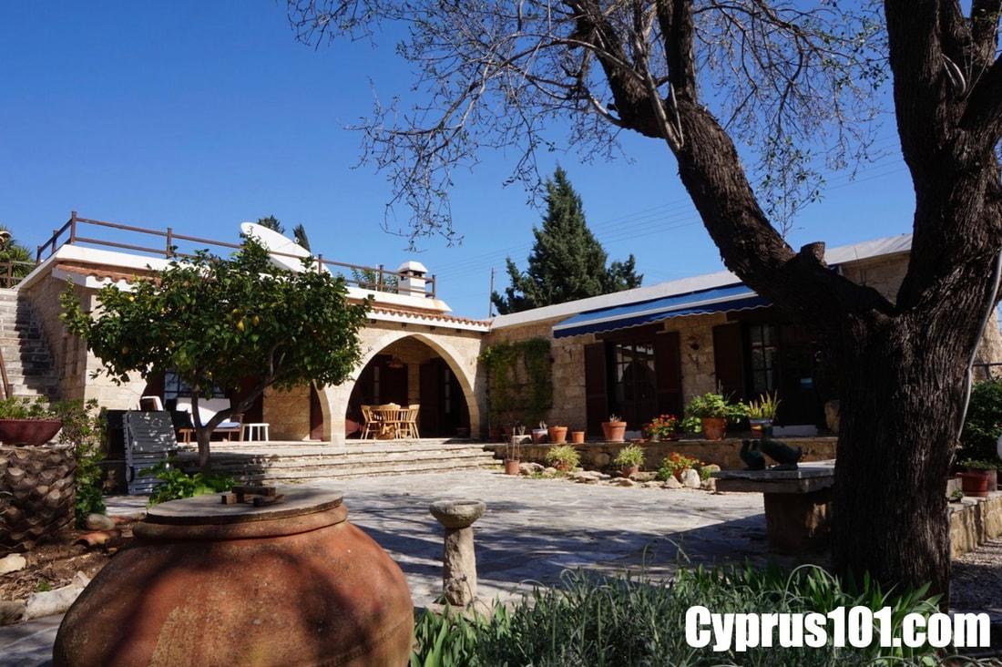 Mesogi stone bungalow for sale Paphos Cyprus