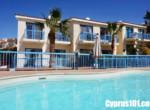 1 - Charming Chloraka 2 Bedroom Semi-Detached Townhouse with Sea Views - MLS 826
