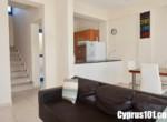 10 - Charming Chloraka 2 Bedroom Semi-Detached Townhouse with Sea Views - MLS 826