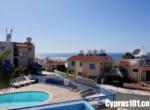 27 - Charming Chloraka 2 Bedroom Semi-Detached Townhouse with Sea Views - MLS 826