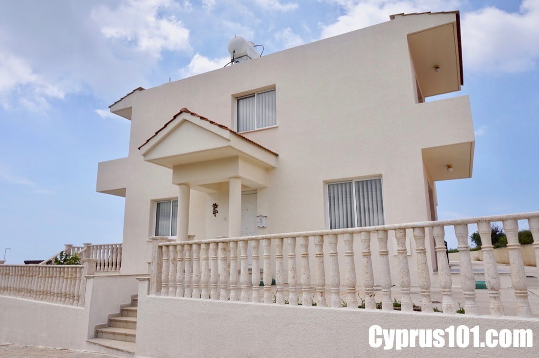 Lower Peyia Detached Villa for sale in Paphos