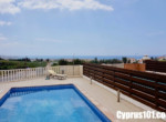 6-Peyia villa for sale within walking distance to shops and restaurants & minutes drive from Coral Bay.