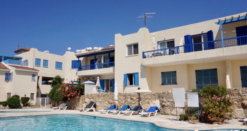 Ground Floor Apartment in Chloraka Village, Paphos – Walk to the beach