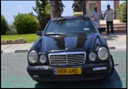 Taxi in Cyprus