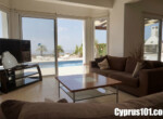 15- Peyia detached villa with magnificent sea & mountain views