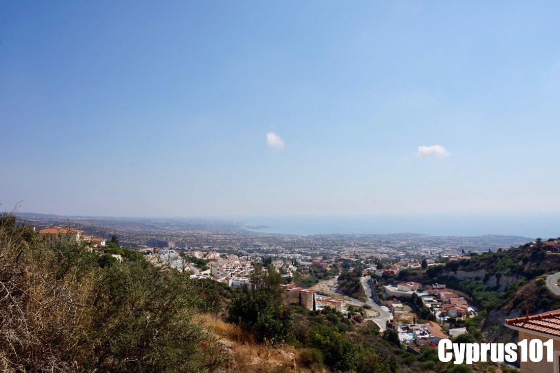 Peyia home for sale with stunning view