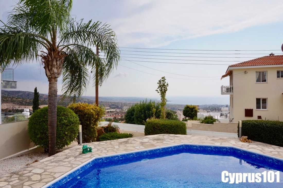 View from the Peyia property