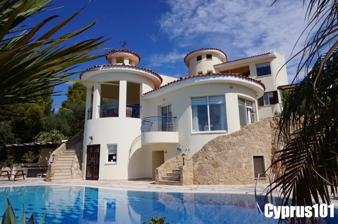 Luxury Kamares Villa in Paphos