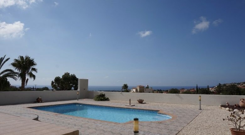 Peyia Villa with Sea Views, Paphos