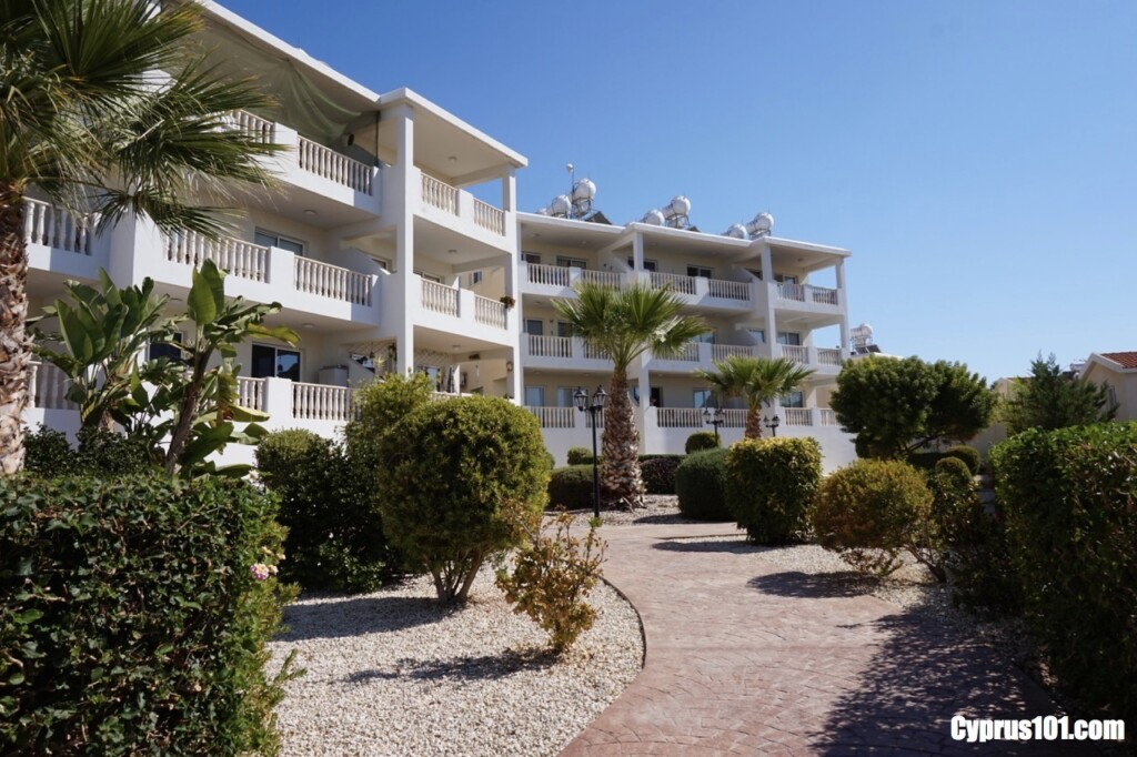 Diana 44 is a new complex located in an ideal location in Kato Paphos
