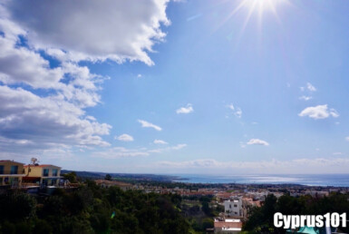 View from Peyia Townhouse