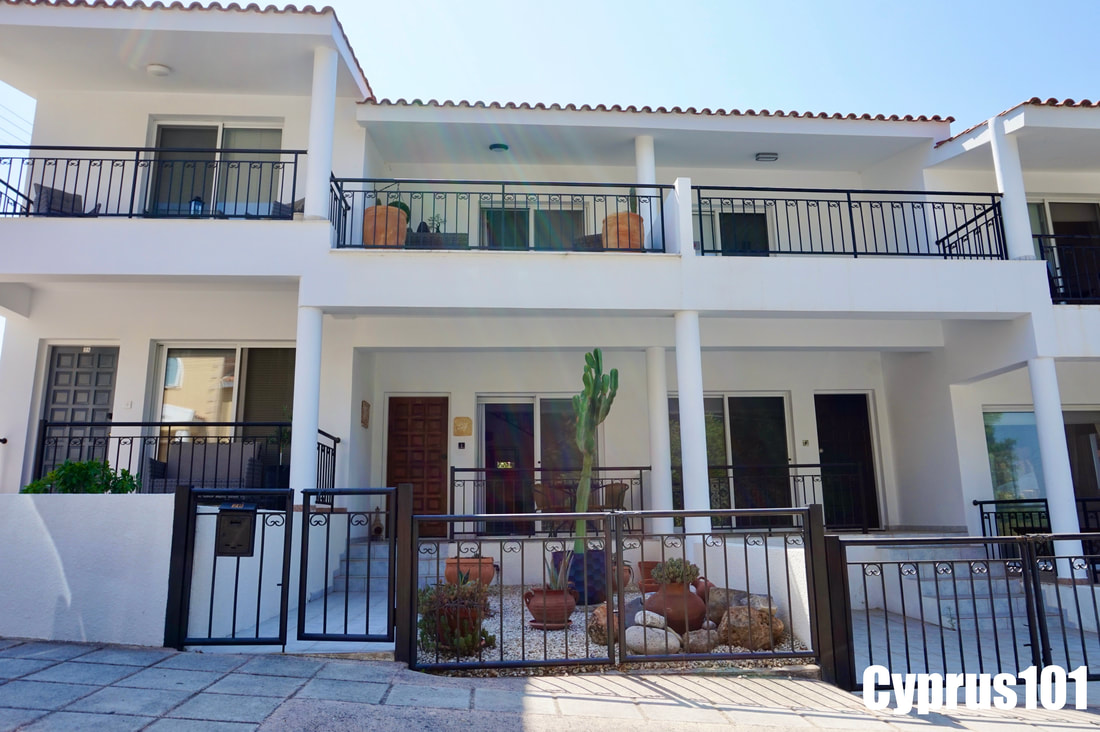 1 -Tala Townhouse in Paphos, Cyprus - MLS 1017